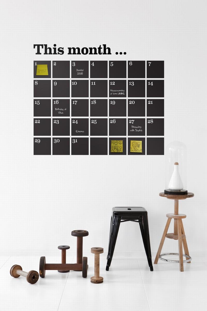 Muurkalender for Ikea kalender