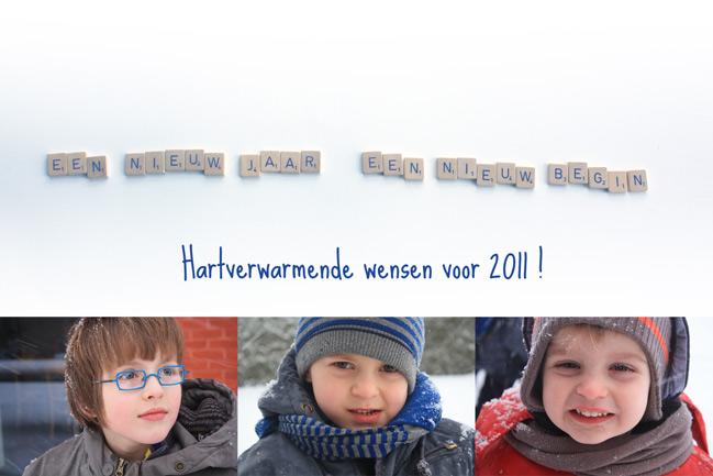 Hartverwarmende wensen voor 2011!