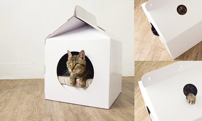 Milk Box Pet House