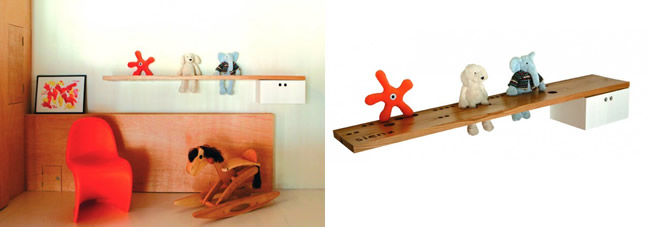 Toys shelf