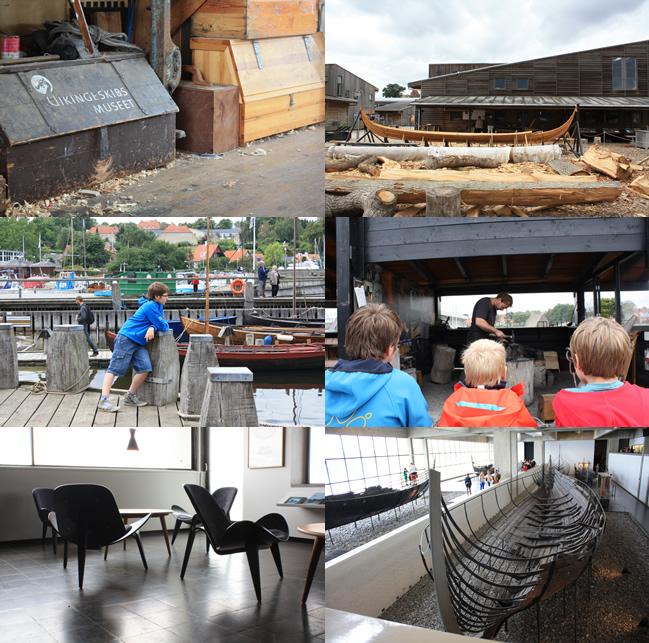 Denemarken Vikingeskibmuseet