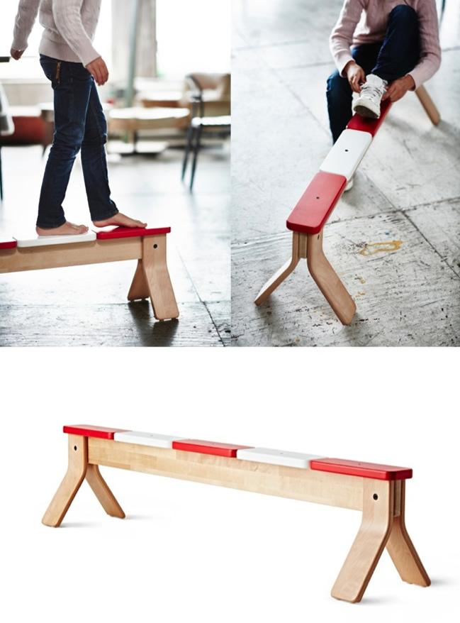 Hebbeding Ikea evenwichtsbalk en gymnastiekmat  blog vierenveertig be