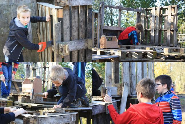 hutten bouwen