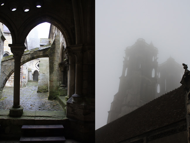 Laon in de mist