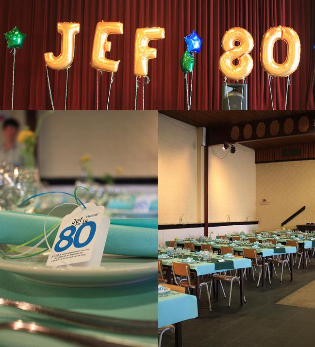 Feest Jef 80