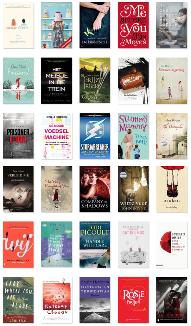 2015 in boeken