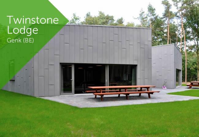Vakantiehuis Twinstone Lodge in Genk