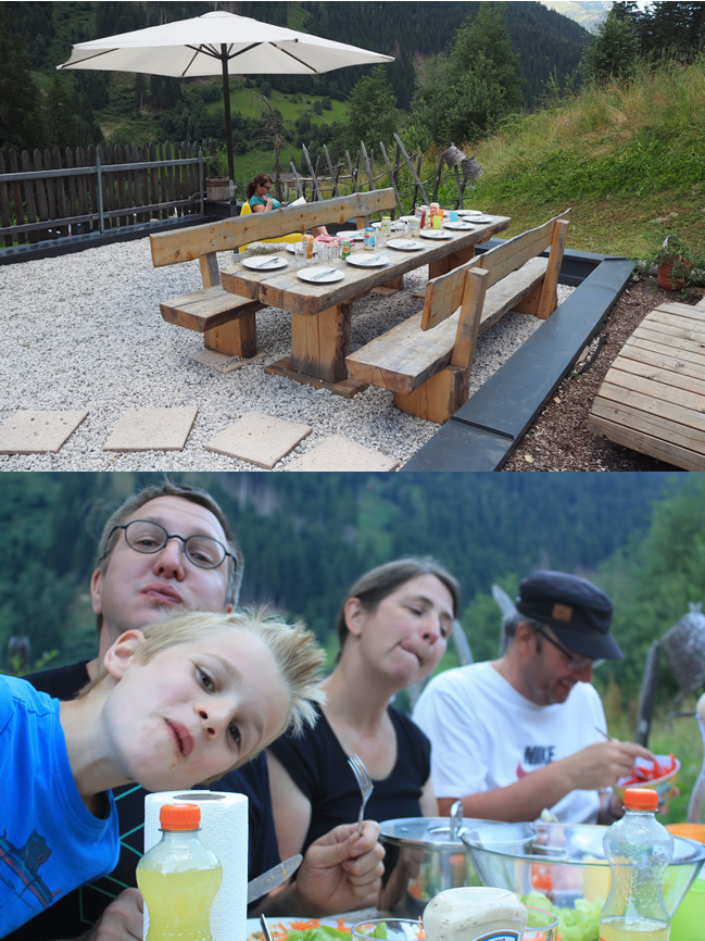 bbq in Neustift