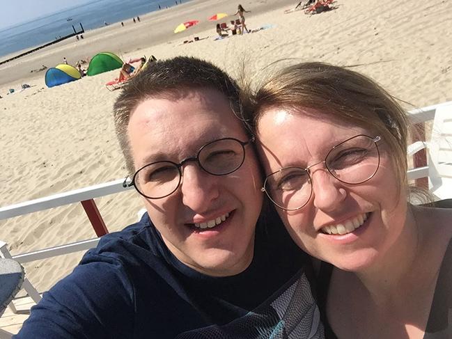 Ilse Heremans met Filip in Zeeland