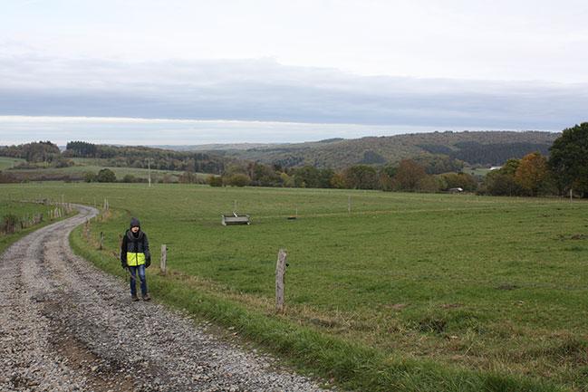 wandelen in Awenne