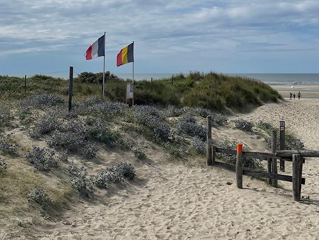 grens met Frankrijk